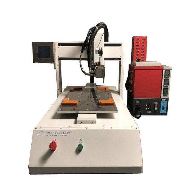 High quality hot melt glue dispensing machine